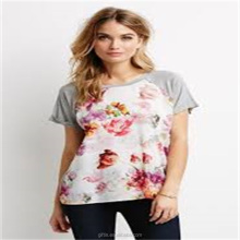 hot selling premium raglan floral t shirt from nirvana