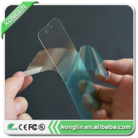 2016 mobile phone protective film tempered glass full colorful screen protector for iphone 6 plus