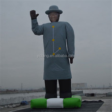 Giant inflatable famous man balloon, inflatable character balloon for sale K2106