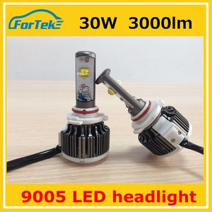 9005 30w high light led auto headlight bulbs high quality 2016 new updated product motorcycle led headlight