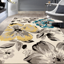 Modern Custom Entrance Flower Anti-slip Printed Mat