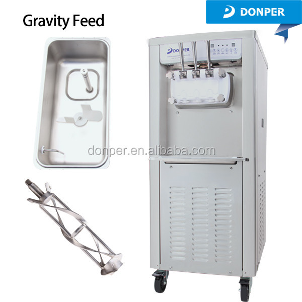 Donper D860 commercial soft ice cream making machine for sale