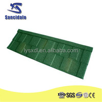 stone coated sheet metal roofing shingles/roof tile factory in guangzhou