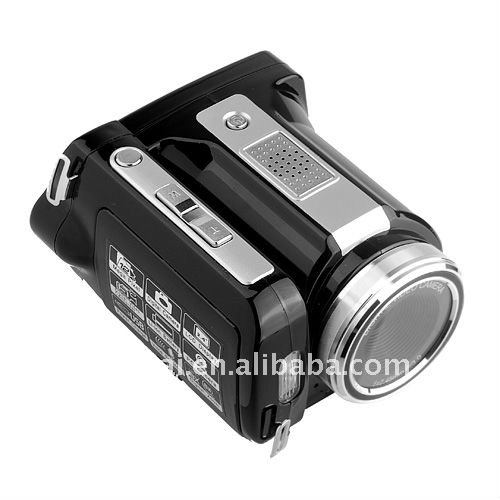 Stock 720P 12Mega Pixels digital camcorder with 2.4inch color screen MP3 player function
