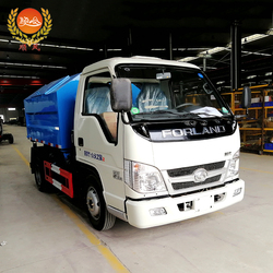 2018 the newest hook arm garbage truck, small garbage truck for sale