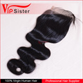 New Premium Virgin Remy Lace Frontal Closure Brazilian Hair Extension Human