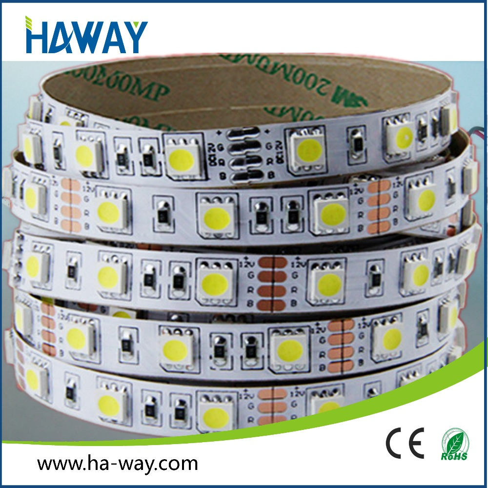 Super brightness IP65 SMD5050 60led/m led strip lights for aquarium