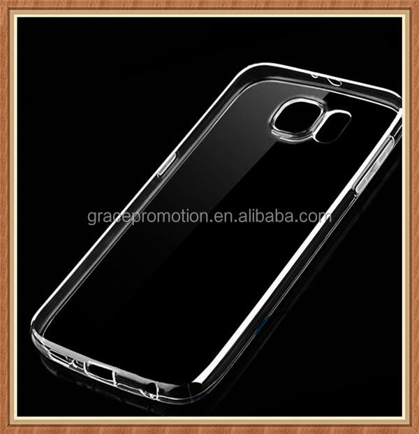 High quality transparent silicon cell phone shell/case