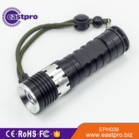 EASTPRO EPH039 high power led 250 lumen rotate zoom us army torch light