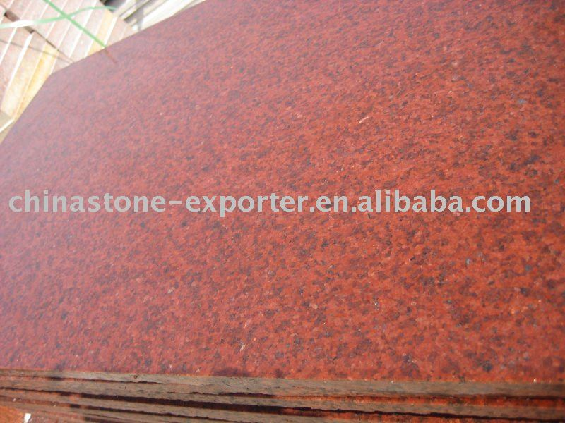 Dyeing Red Granite