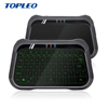 Mutual capacity response buzzer T18 electric rgb backlit wireless mini qwerty touch screen keyboard