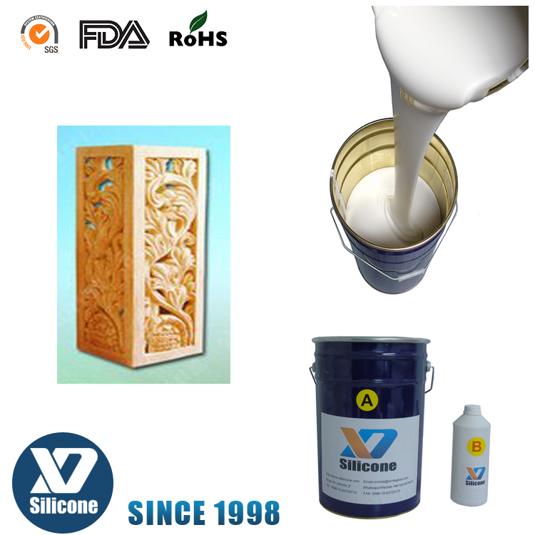 Sell low cost silicone liquido industrial molds concrete rubber RTV liquid silicone rubber for mold making RTVM20