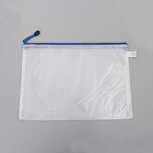 PVC document bag with pocket plastic waterproof document holder