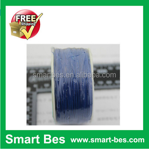 Smart Bes~!Free Shipping 250Meter/Lot High Temperature Resistant Electric <strong>Wire</strong> 0.5mm Connector <strong>Wire</strong> Blue