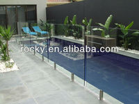 Laminated Tempered Glass Fence Panels