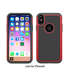 High impact soft anti slip shockproof silicone smartphone case 2018 durable