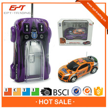 Hot sale funny mini 1/63 rc racing car with charger ICTI approval