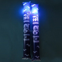 PE led plastic glow stick /pe inflatable led cheering stick