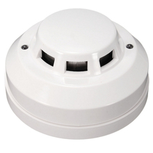 Stand-Alone Smoke Alarm With Battery Back-up ,Dusproof White Wire Optical Electric Smoke Detector