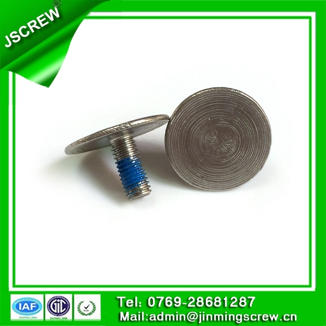 M5 stainless steel cheese head nylok micro screw for machine