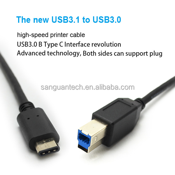 quality OEM usb type c cable to printer usb cable for PC and printer