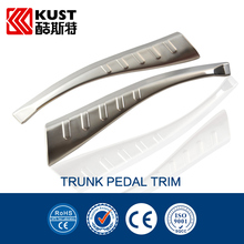 KUST Stainless Steel Chrome Trunk Sill For RAV4 For Toyota Car Accessories Decoration Trunk Pedal Trim For RAV4 2013 2014 2015