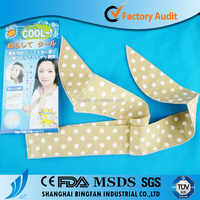 Rehabilitation Therapy Supplies Properties and Hot & Cold Packs Type cooling scarf ice pack