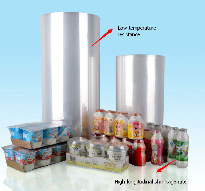 chinese blue film/pof enviroment shrink film/heating film for export
