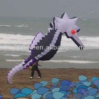 soft inflatable show kite seahorse for sale