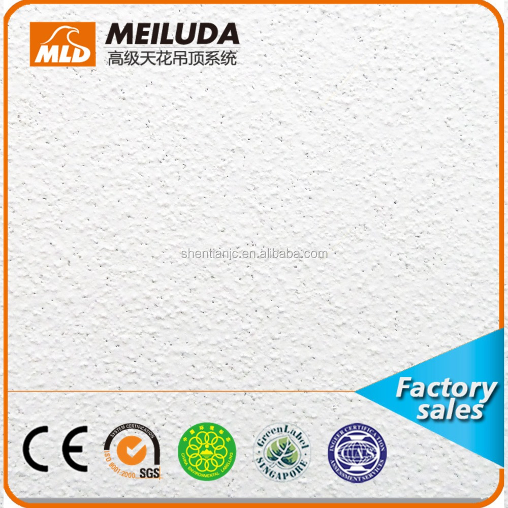 sound-absorbing ceiling easy to install mineral fiber ceiling mineral fiber board ceiling tiles