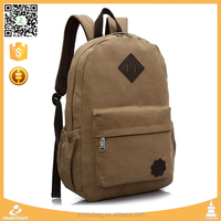 cheap price canvas school backpacks used for college school girls student