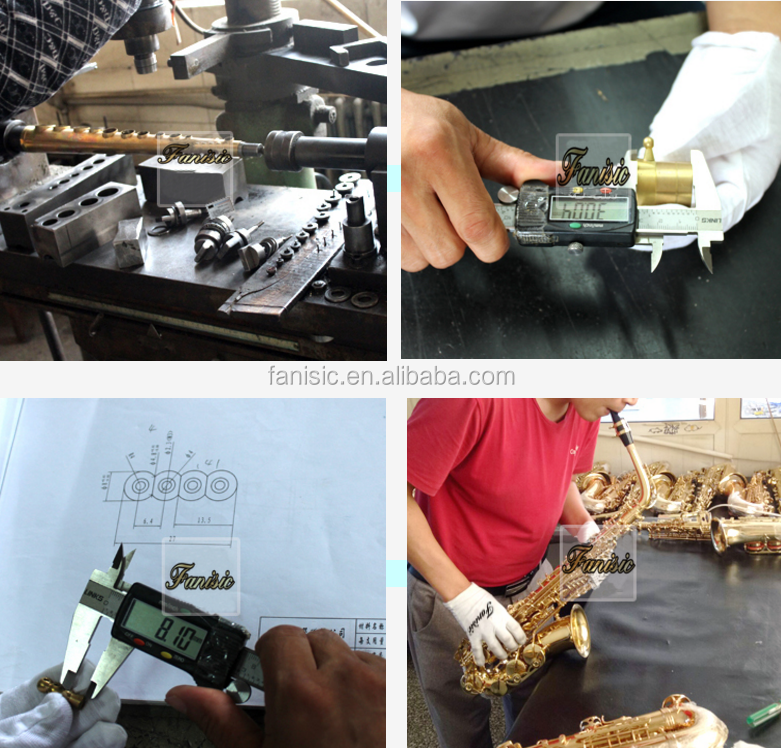 Saxophone alto with customized hand engraved motif