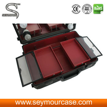 Makeup Case With Lighted Mirror Makeup Storage Box
