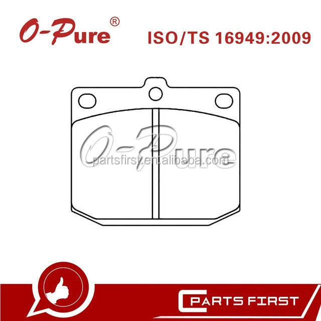 China Brake Pads MK D1019 Auto Parts Factory Good Quality for Nissan Laurel Toyota Cressida