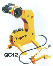 QG12 Electric power tube cutter Hydraulic steel pipe cutter