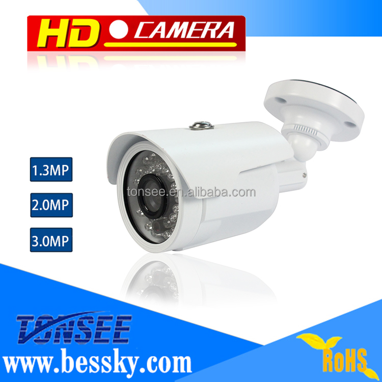 cctv security Factory Hot 3MP HD Cctv Camera , AHD Bullet Cctv Camera CMOS 960P Waterproof Camera