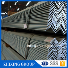 galvanized q235 6m length 10*10-200*20mm equal weight of ms angle