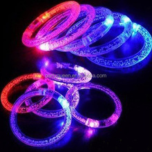 colorful LED bracelet for party,lighting up bracelet