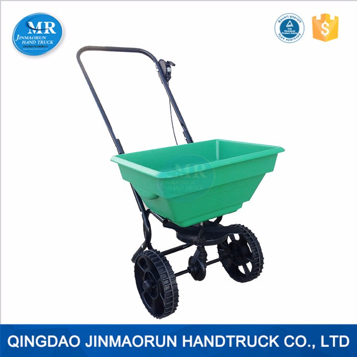 Garden Tool Cart Handy Plastic Fertilizer Spreader