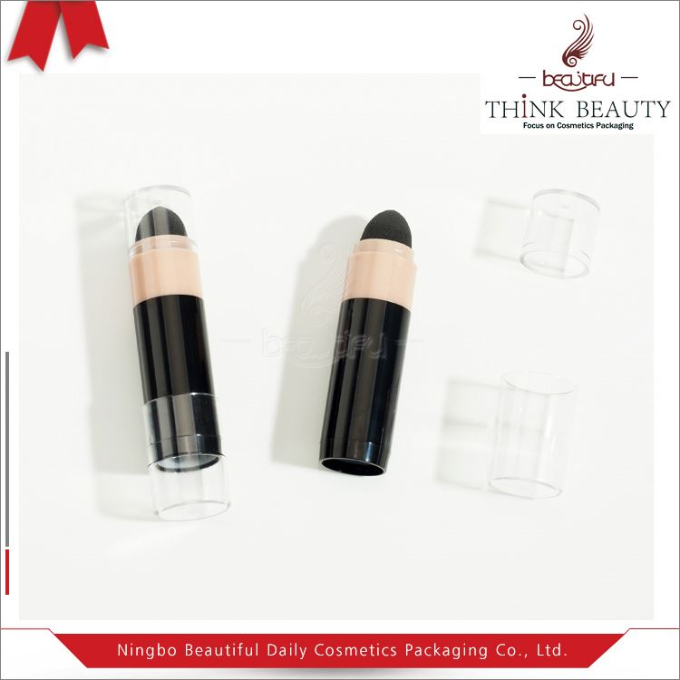 Best Selling fashion 24.5mm H124.7mm Empty blush stick case with brush eye shadow pen