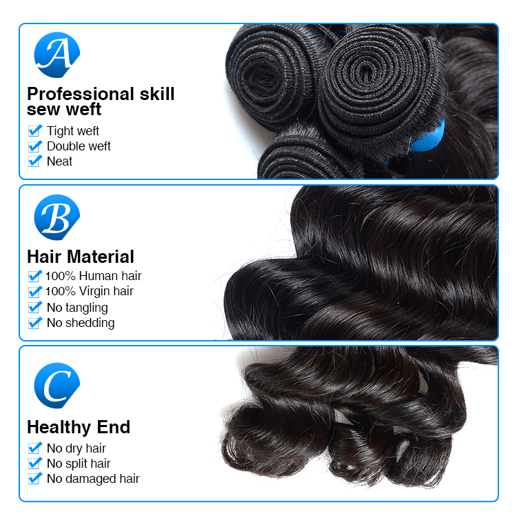 double drawn braid hair extensions for black people,shedding free cashmere virgin hair extensions