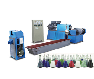 Twee stage plastic recycling machine polyester/SJ-120 model recycling machine