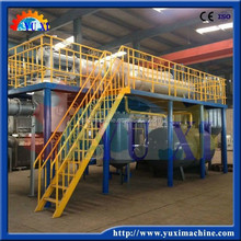 2015 high profit 5/8/10/12 Ton of waste lube oil recycling plant with CE and ISO