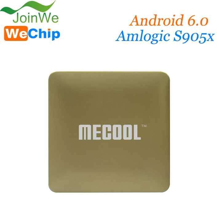 Joinwe Best Selling Products Amlogic S905X HM8 MECOOL Android 6.0 universal tv box