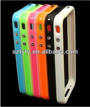 Multicolor front and back case for iphone 4