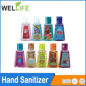 Mini size 30ml green apple antiseptic hand sanitizer