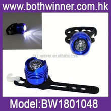 BW062 waterproof warning safty bicycle led silicone light