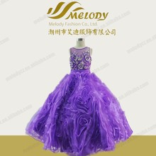 Top quality guangzhou factory real sample latest sheer back gowns lolita dress