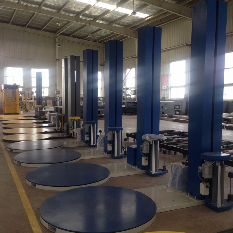 stretch wrapping equipment shrink wrap machine for pallet
