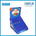 Chinese supplier Promotional Cardboard display shelf Wholesale